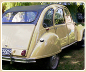 The 2cv as base for The Flyer